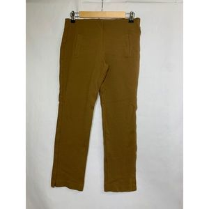 Chico's 00 Ankle XS/2 Tan Pull On Legging Pants